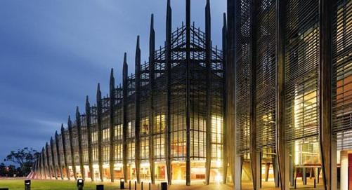 艾迪斯科文大学校内建筑1