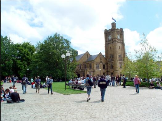 墨尔本大学位置介绍