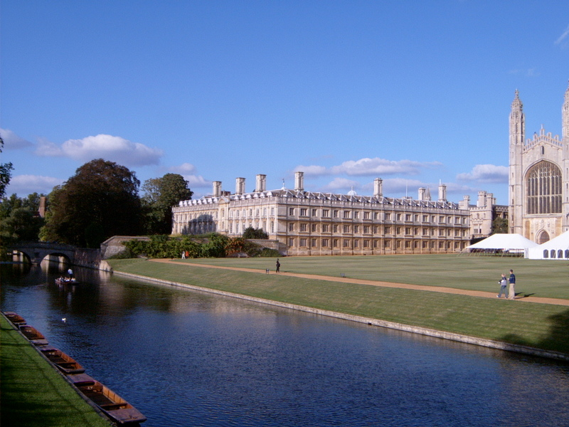 剑桥大学院系设置
