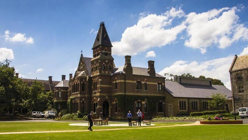 澳洲 墨尔本大学  图片