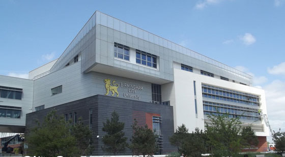 伯明翰城市大学校园总体环境