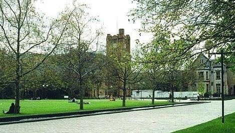 澳洲 澳洲国立大学 图片法学院