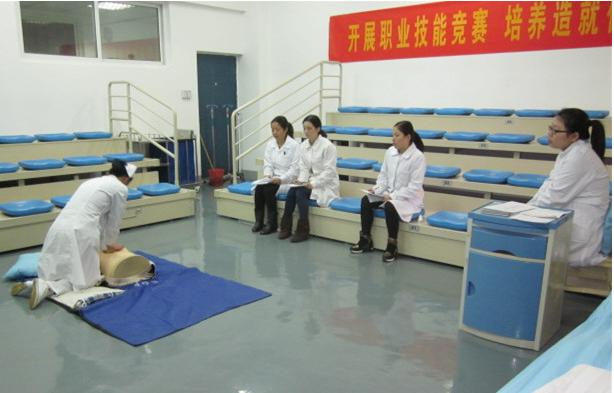 (四川省红十字卫生学校)校园环境