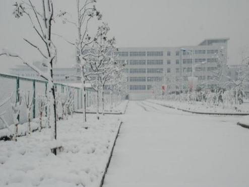 皖西卫生职业学院校园环境