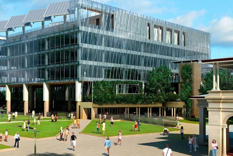 昆士兰科技大学建筑2