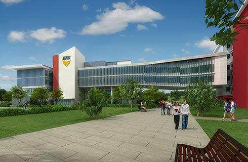 南昆士兰大学建筑