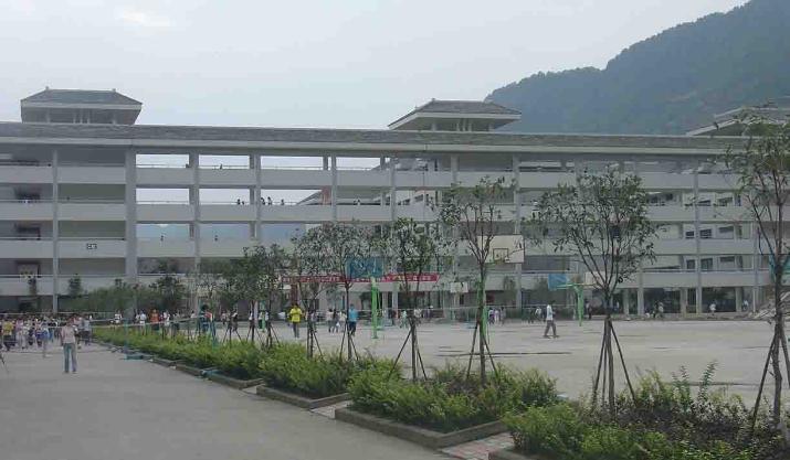 雅安职业技术学院校园环境