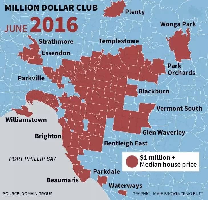 贵就一定好?墨尔本百万豪区大揭秘,真正配的上百万中位价的区竟然是......